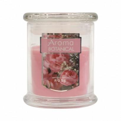 Bougie parfumée 11x9 cm - Rose