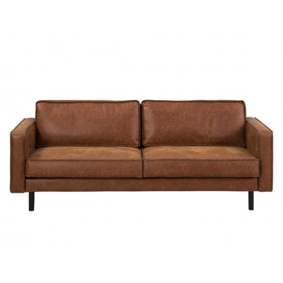 Canapé 3-5 places en cuir...