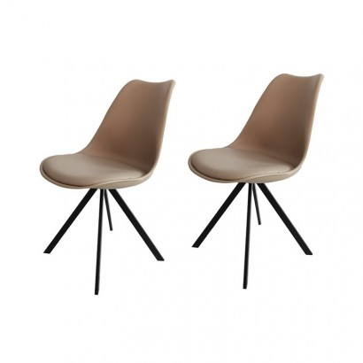 Set pf 2 Julia chaises en...