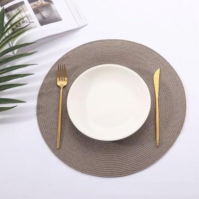 Set de table tressé 38x38 cm