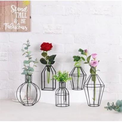 Vase SMITA transparent H18,7