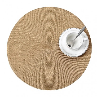 Round place mat 38x38 cm -...