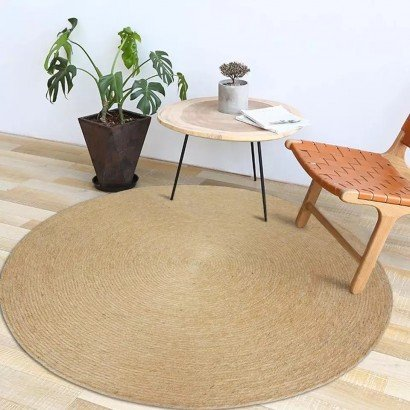 Round Carpet in natural...