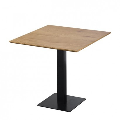 Square table with central...