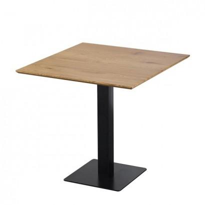 Table carrée  avec pied...