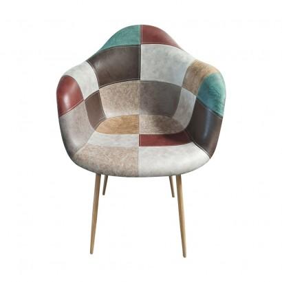 Patchwork arm chair - ORAZ