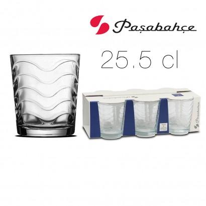 TOROS glass x6 25.5 cl D7.7...