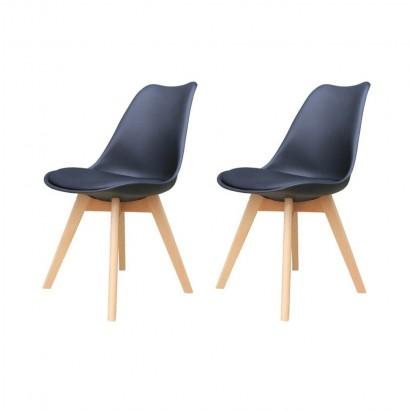 Lot de 2 LIYAH chaises avec...