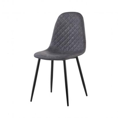 Vintage leather look chair...