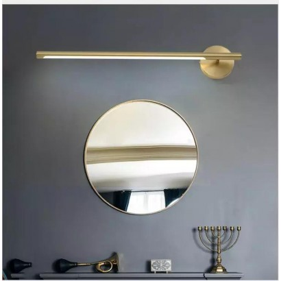 Miroir MENSANO métal dore...