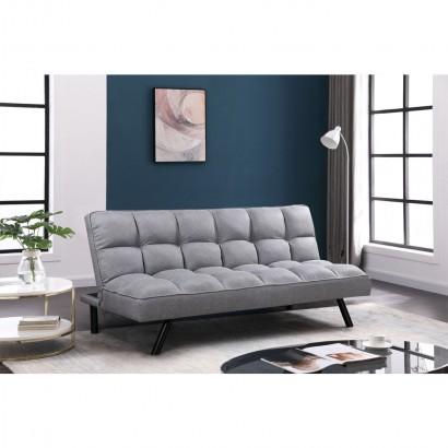 Fabric sofa bed - Grey