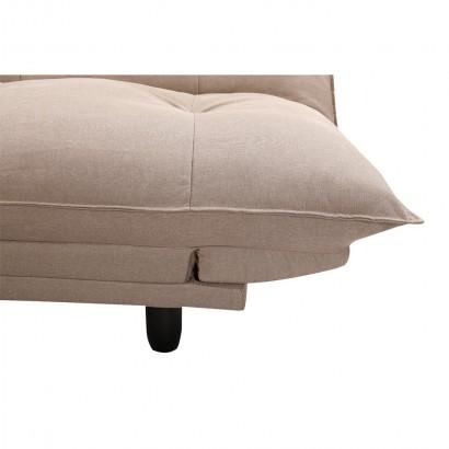 Canapé convertible en tissu...