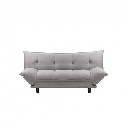 Fabric sofa bed - Gris clair