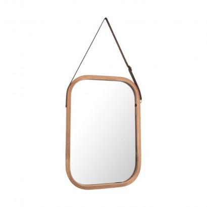 ELIJA miroir bamboo 33x40,5 cm