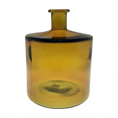 IVO glass vase 26 cm - Yellow