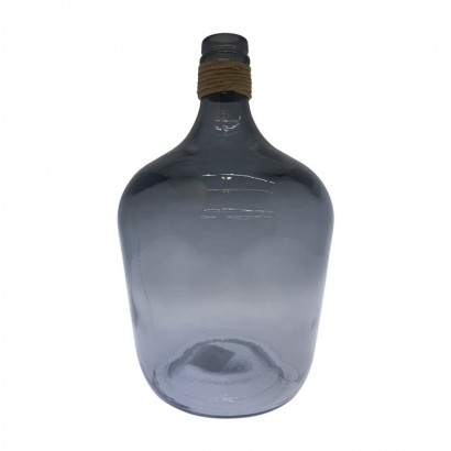 Bottle RAFA in glass 4L - Grey