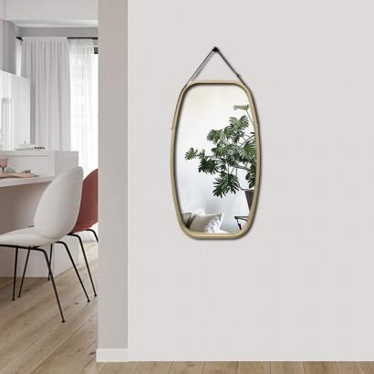 ALANA bamboo mirror 77x44 cm