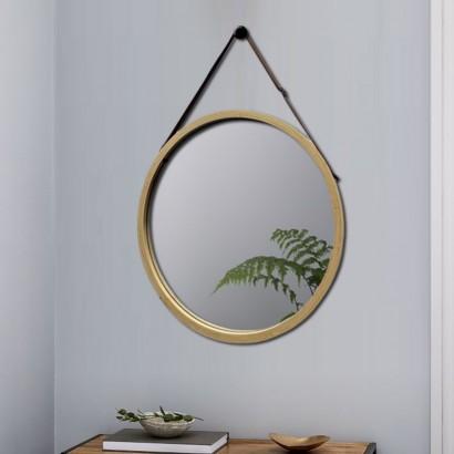 ANJA miroir bamboo D38 cm