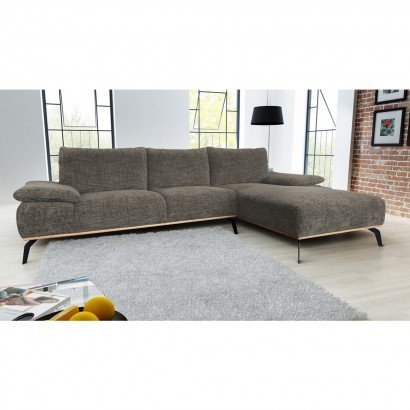 Panoramic sofa - Right - Taupe