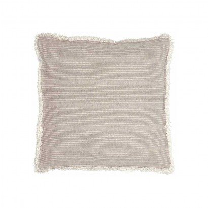 Coussin ZARAH 45x45 cm - Taupe