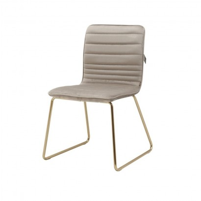 ROXANA chair in velvet with...