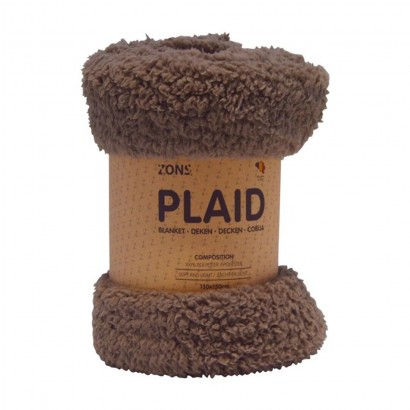 Plaid fourrure 130x150 cm -...