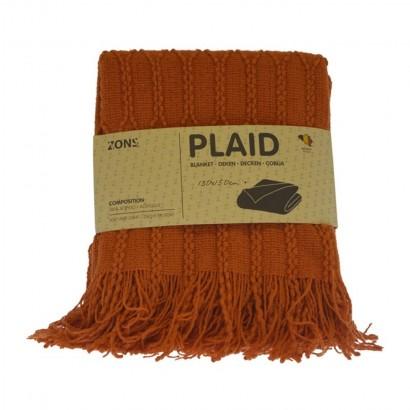 Plaid tricot 130x150 cm