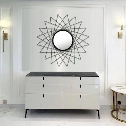 BALEA miroir en métal D79 cm