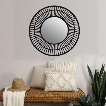 ANILA miroir en bambou D72 cm
