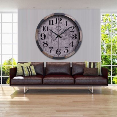BISMO big wall clock D100 cm
