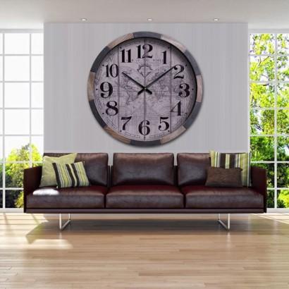 BISMO grande horloge murale...