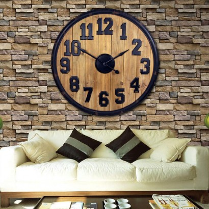CLYDE horloge murale D101,5 cm