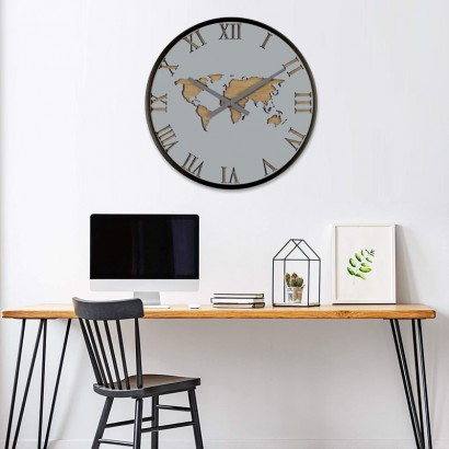 MALOEN wall clock D45 cm