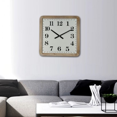 KANSAS wall clock 50x50 cm