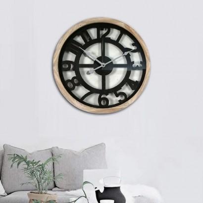 RENO wall clock D60 cm