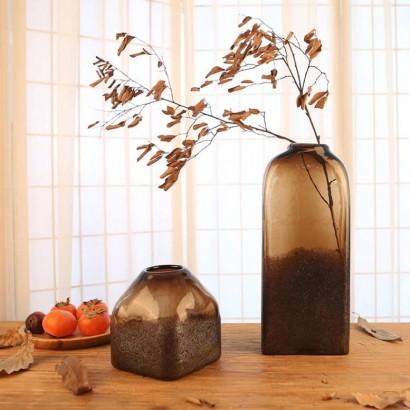 Vase ARTHUR ambre H36