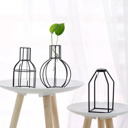Vase SMITA transparent H22