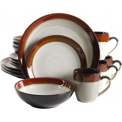 MILAN ceramics 16 PCs table...