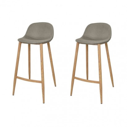 Set of 2 Tabourets Bar...