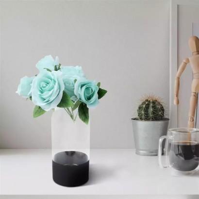 Vase GHANIMA en verre H24,5 cm