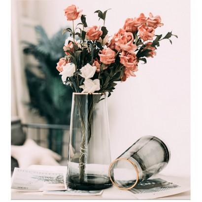 Vase IWAKURA en verre H25 cm