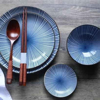 FUJIOKA ceramic plate D27CM