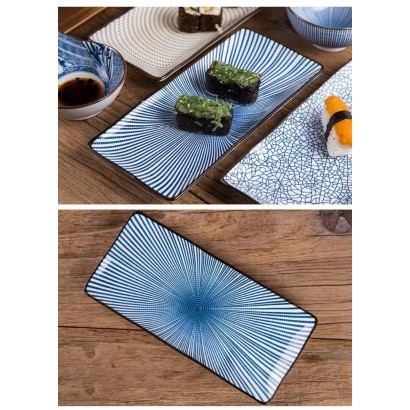 FUJIOKA ceramic flat plate...