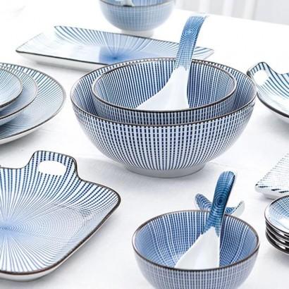 FUJIOKA square ceramic bowl...