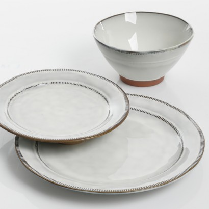 DAISEN ceramic soup plate...