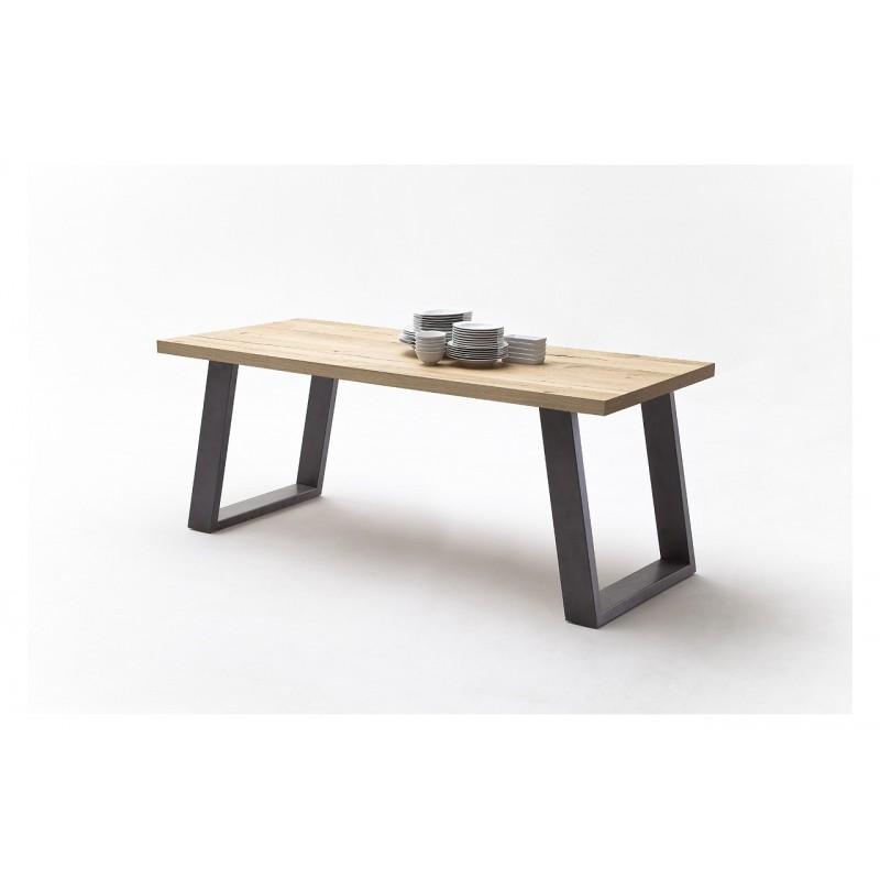TABLE BASSE NATUREL BOIS CHÊNE