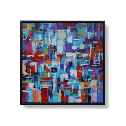 ASAHI hand-painted canvas -...