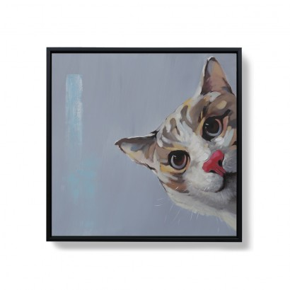 ALFIE hand-painted canvas -...