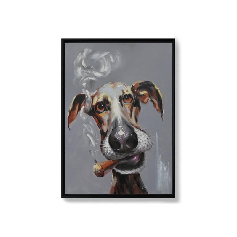 Toile peinte à la main, 70x100CM - BENJI