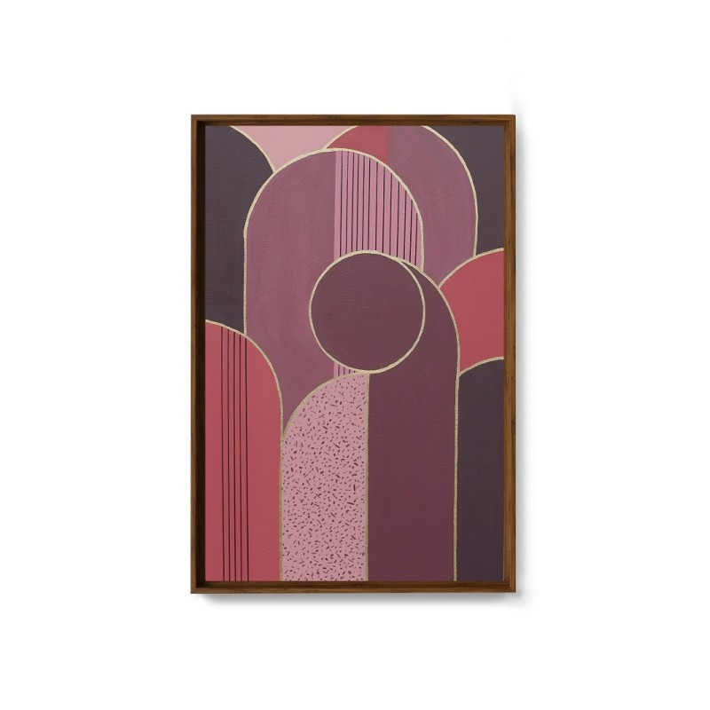 Toile peinte à la main, 60x90CM - KASUGAI